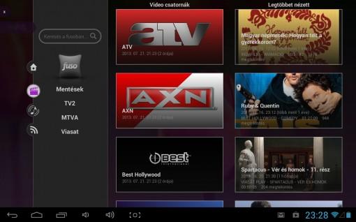 WayteQ xTAB-70qci FUSO TV