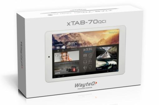 WayteQ xTAB-70qci doboz
