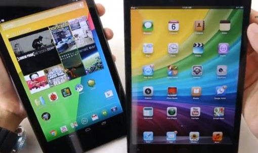 nexus7 vs ipad mini